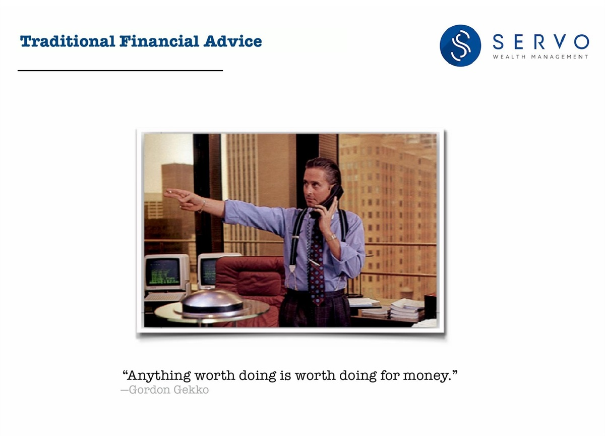 Traditional Financial Advice