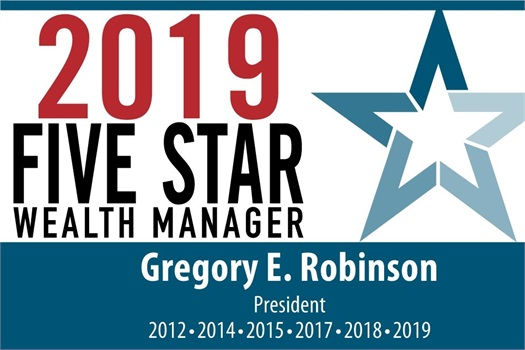 Five-time Recipient of the  Five Star Wealth Manager Award