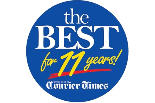 Voted the Best of Bucks for 11 Years