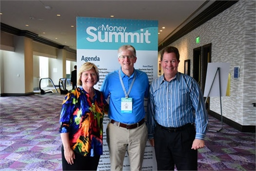 Elaine and Scott attend eMoney Advisor Summit 2019