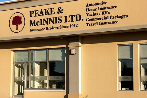 Peake & McInnis Ltd. Your Prince Edward Island Insurance Brokerage