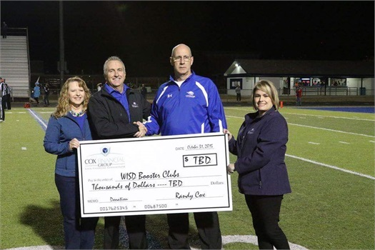 <strong>Cox Financial Group sets record-breaking year in '$100 for Touchdowns' program (2015)</strong>