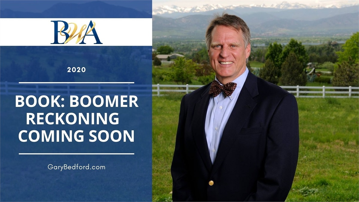Financial Book Coming Soon: Boomer Reckoning – Prosperity & Peril