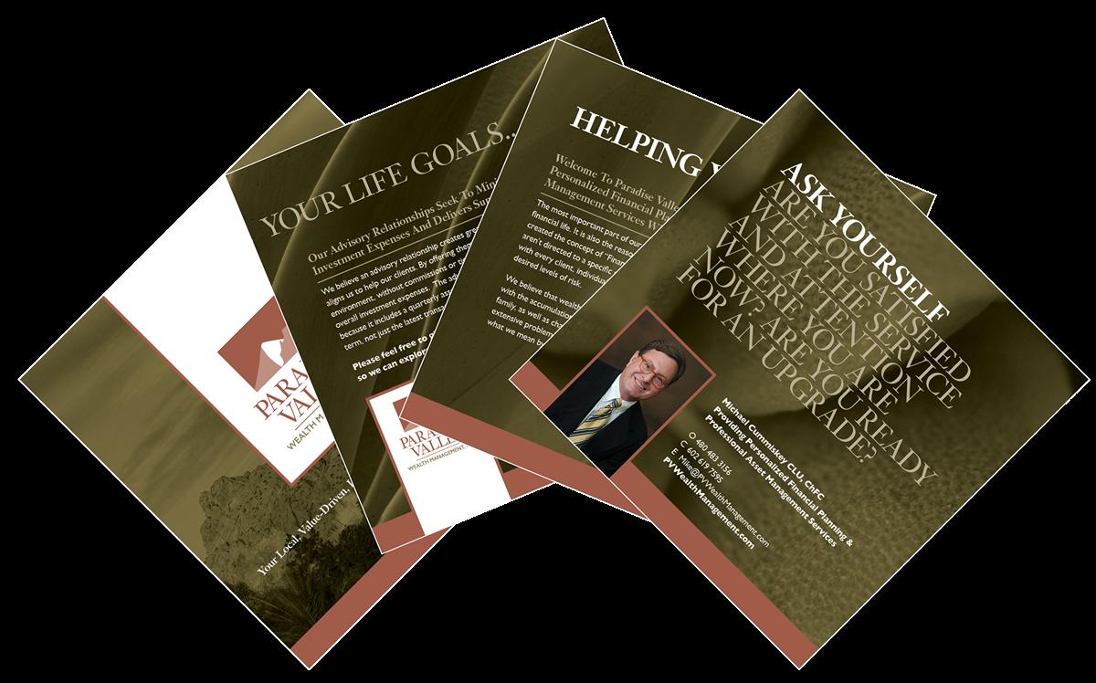Request a Brochure | Mike Cummiskey