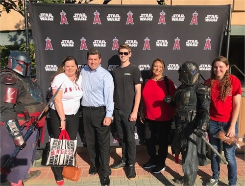 Angel's Game on Star Wars Night