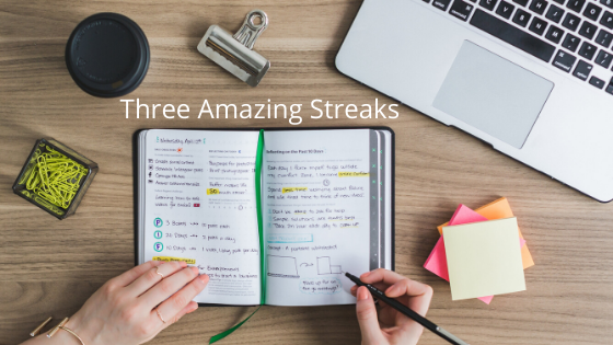 Three Amazing Streaks