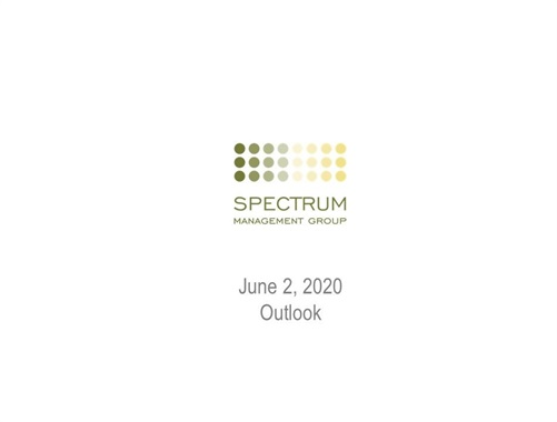 Spectrum Management Group Market Update - 06/20/2020