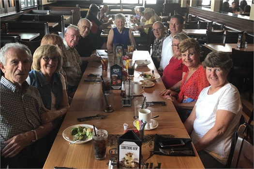 October Birthday Luncheon 2019