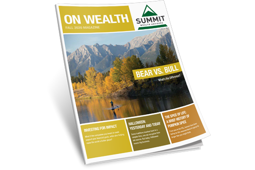 Fall 2020 On Wealth Magazine