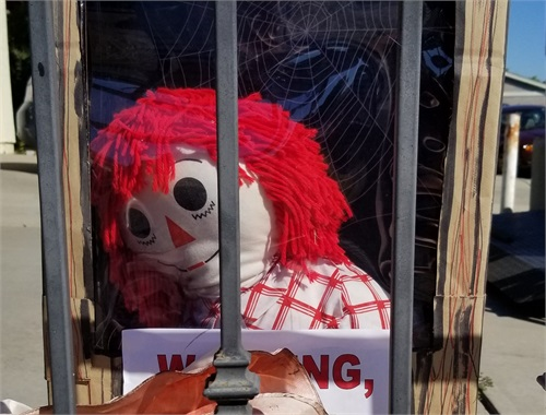 Unfortunately Annabelle could not be a part of SH 2019. She was locked up and in her box. Maybe she'll see you in 2020!