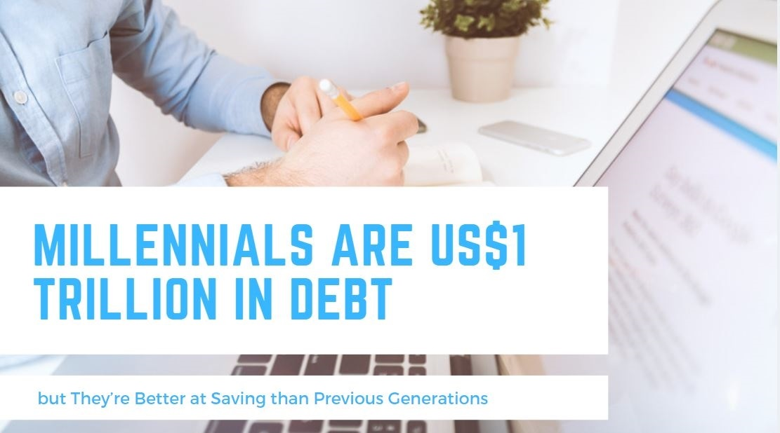 Millennials are 1 trillion dollars in debt – but they're better at saving than previous generations