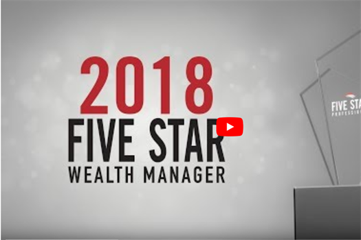 Andrew Zittell Awarded The 2018 Five Star Wealth Manager Award