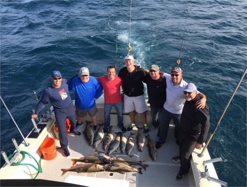 Lakeshore Financial Group Chartered Fishing Trip