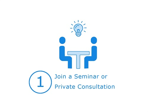 Join an upcoming seminar or schedule a private consultation