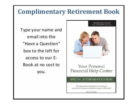 Complimentary Retirement Book
