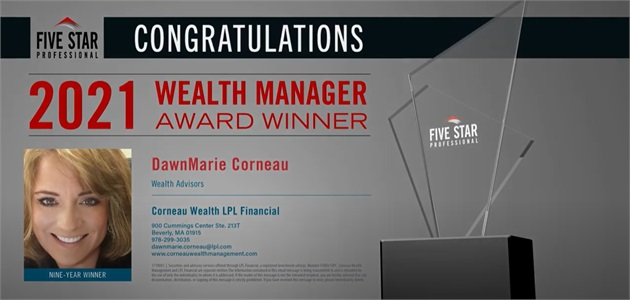 2021 Five Star Wealth Manager