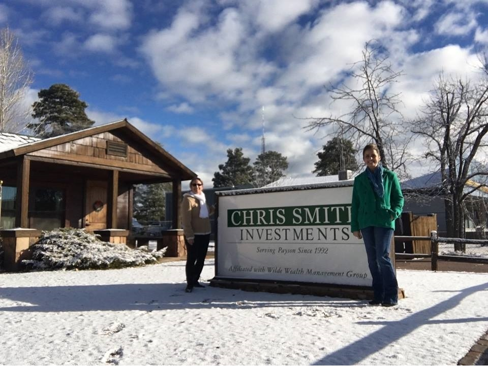 Our Payson office gets the first snow of the season!