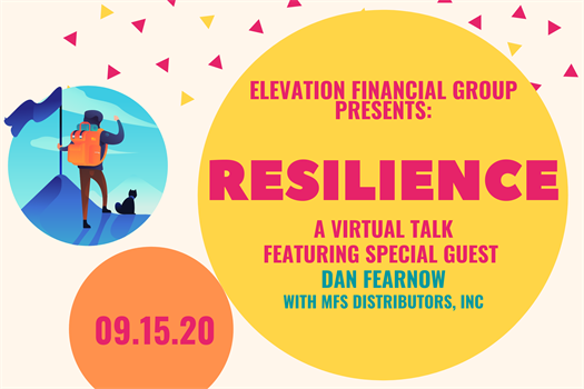 Upcoming Event: Resilience, a Virtual Talk