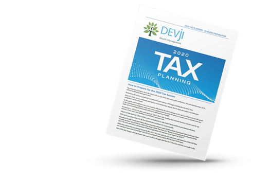 GET YOUR FREE COPY OF OUR<br />2020 TAX PLANNING GUIDE!