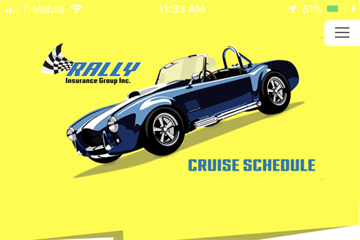 2020 Cruise Schedule is now an app!  We no longer offer the cruise schedule in a print format.