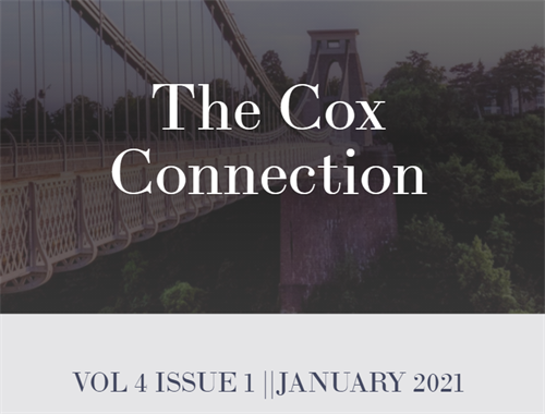 Read our latest thoughts and tips in our Newsletter, The Cox Connection, covering the fourth quarter 2020.