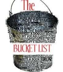 Consider a bucket plan to go with your bucket list.