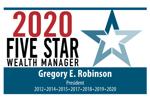 Seven-time Recipient of the  Five Star Wealth Manager Award
