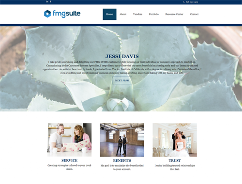 FMG SUITE Designed Websites