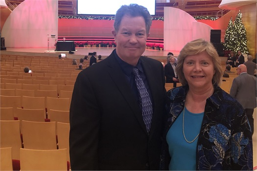 Elaine and Scott Attend Economic Summit