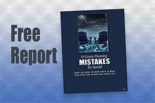 Download our free report 10 Estate Planning Mistakes to help Avoid. Learn simple, yet effective ways to avoid the probate process. Make sure you have the basics of Estate Planning in place. <br /><br /><br /><br />