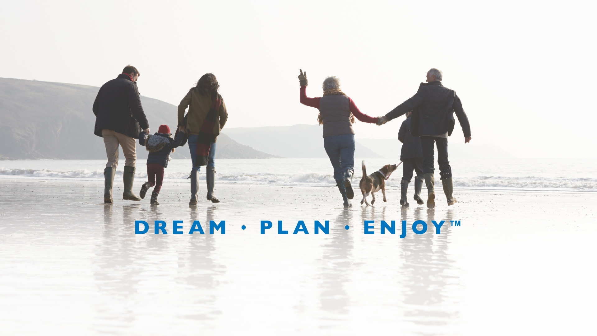 Dream &#8226; Plan &#8226; Enjoy<b>&#8482;</b>