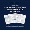 Helpful Information for Filing 2020 Income Taxes and Proactive Tax Planning for 2021