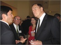 Patrick with US Senator Richard Shelby