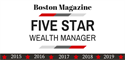Five Star Wealth Manager Award Received for Fifth Year in a Row
