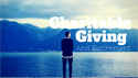 Charitable Giving And Retirement