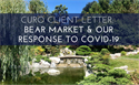 Curo Client Letter: Bear Market & Our Response to COVID-19