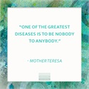 WEDNESDAY WISDOM - Mother Teresa - October 2016