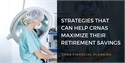 Strategies for CRNA Business Owners or Freelancers to Help Maximize their Retirement Savings