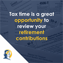 Taxes and Retirement Contributions