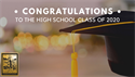 Congratulations to the High School Class of 2020