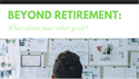 Beyond Retirement - What About Your Other Goals