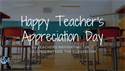 Happy Teacher's Appreciation Day to Teachers Navigating Their Calling Outside the Classroom