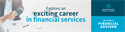 4 Reasons to Consider a Career in Financial Services