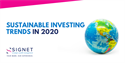 Sustainable Investing Trends in 2020