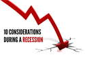 What to do During a Recession: 10 Considerations for Professional Athletes and Young Professionals