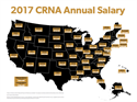 New Report: CRNA Salaries Vary Widely Across United States (Graphic)