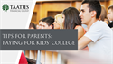 Tips for Parents: Paying for Kids' College