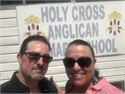 Motivational Story: CEO of White Rhino Financial visits Holy Cross Anglican School in Belize