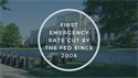 First Emergency Rate Cut By the Fed Since 2008