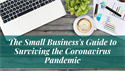 The Small Business's Guide to Surviving the Coronavirus Pandemic